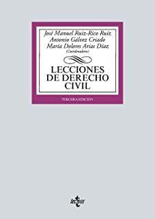 Lecciones de derecho civil/José Manuel Ruiz-Rico Ruiz Tecnos, 2021