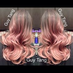 Rose Gold Ombre by Guy Tang