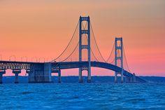 #ridecolorfully Mackinac bridge