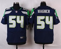nike seattle seahawks 54 bobby wagner blue elite jersey