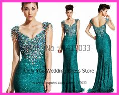 turquoise evening gown - Google Search