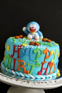 Doraemon Birthday Cake | Flickr - Photo Sharing!