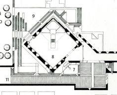 Carlo Scarpa (Italiano, 1906-1978)   Complesso Monumentale Brion (detto Tomba Brion)   San Vito d'Altivole, Treviso   Italia   1969-1978on