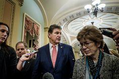 Manchin Will Seek Re-election but Sends Democrats a Stern Warning