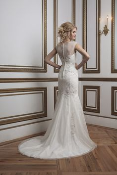 Vintage inspired wedding gowns by Justin Alexander. See The entire collection here http://www.weddingchicks.com/justin-alexander-bridal-collection/