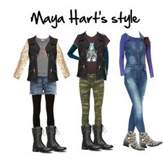 Maya Hart ~ Sabrina Carpenter outfit