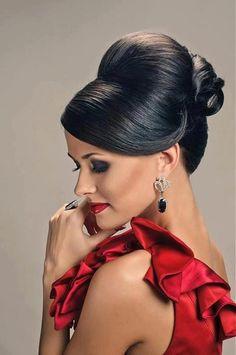 Sleek Updo Hairstyle