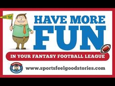 Fantasy Football Certificates from the Cranky Commissioner - YouTube Video
