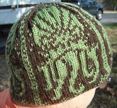 Ravelry: Lovecraft's Bane - Cthulhu Hat pattern by Lisa Wilt