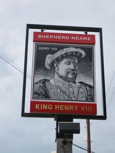The Shepherd Neame pub sign IMG_1054, via Flickr.