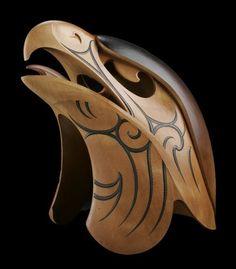 Karanga: The Calling, a carving by Maori artist, Todd Couper, Papamoa, New Zealand. Wood Carving Art, Bone Carving, Driftwood Sculpture, Sculpture Art, Ice Sculptures, Native Art, Native American Art, Haida Art, Maori Art
