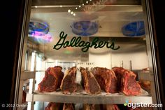 Gallagher's Steakhouse at the New York New York Hotel ~ Las Vegas