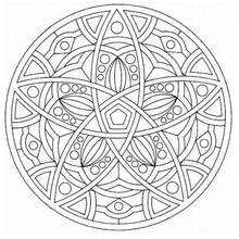 Mandala  49 - Coloring page - MANDALA coloring pages - Mandalas for EXPERTS