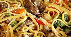 This Quick & Easy Beef Noodle Stir Fry can be made in just 20 minutes! Tender beef, fresh veggies, and noodles tossed together in a delicious savory sauce. Beef Noodle Stir Fry, Steak Stir Fry, Stir Fry Noodles, Beef And Noodles, Top Sirloin Steak Recipe, Beef Sirloin, Stir Fry Recipes, Beef Recipes, Cooking Recipes