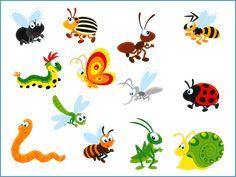 Шаблоны для презентаций насекомые