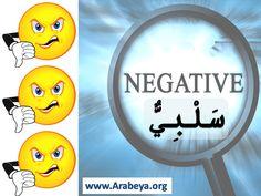 Negative Modern Standard Arabic, Improve Your Vocabulary, Arabic Language, Learning Arabic, Improve Yourself, Teaching, Grammar, Success, Education