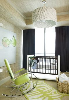 Hudson Baby Design: Nursery of the Week: Lime and the coconut