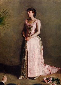 The Athenaeum - The Concert Singer (Thomas Eakins - )