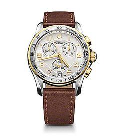 Victorinox Swiss Army Classic Chronograph Leather Watch #Dillards