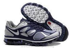 Ink White Metallic Silver Mens 487982-510 Nike Air Max 2012