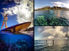 Stand Up Paddling tours with Hawaiian Paddle Sports