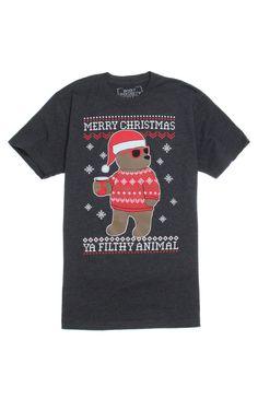 Riot Society Santa Bear T-Shirt at PacSun.com