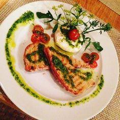 Mozarela Salad. #recipe #cooking #cook #healthy #recipes #yummy #health #instafood #foodporn #delicious #foodpic #snack #food #biofood