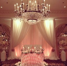 <p>Sweetheart table draping has become a popular feature at weddings.. Influence from the united states have had our Brides come forth wanting that similar luxurious look and feel. Sweetheart tables are just for two guests of the day..the bride and groom. Very pretty lit backdrop draping uplit with peach lighting and soft sheer draping. For […]</p>