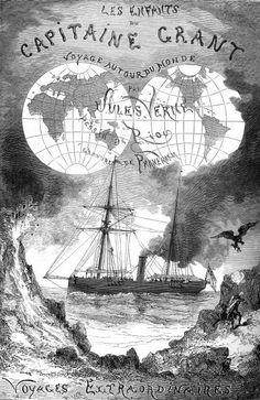 Иллюстрации к произведениям Жюля Верна
