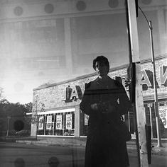 Photographer Vivian Maier, self portrait