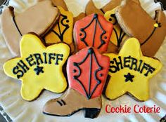 sheriff badge cake - Google Search