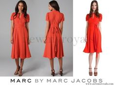 Crown Princess Mary wore Marc by Marc Jacobs Mimi CDC Dress www.newmyroyals.com