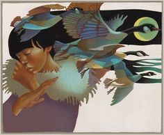 the transcontinental affair: leo and diane dillon.
