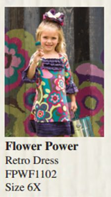 Flower Power dress from Vintage Couture #ScoreYourBoard
