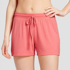 Women's Sleep Shorts - Fifties Pink Xxl