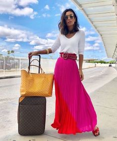 What to wear for your summer vacation – Just Trendy Girls Paris Chic, Fashion Moda, Skirt Fashion, Fashion Outfits, Skirt Outfits, Dress Skirt, Summer Outfits, Casual Outfits, Mode Inspiration