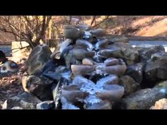 ▶ Emerson Waldorf School Flow Form at 9 Degrees - (forms for sale!!)