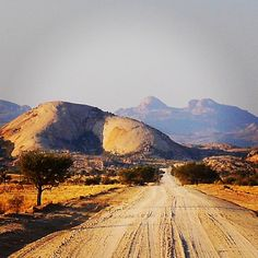 Road View - Namibia