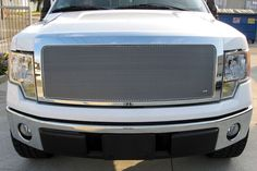 Grillcraft #F1311-12S Ford F-150 MX Grille Upper & Lower Insert (Combo Kit) #Grillcraft #ChromeTrim