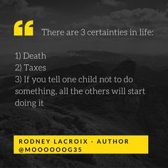 parenting | kids | humor | funny | meme | author | tweets from @moooooog35 | Rodney Lacroix | Amazon: author.to/RodneyLacroix