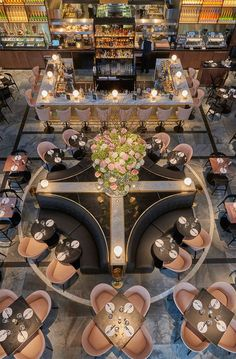 Overhead view of restaurant. Overhead view of restaurant. Restaurant Layout, Deco Restaurant, Restaurant Seating, Luxury Restaurant, Restaurant Lighting, Restaurant Furniture, Modern Restaurant, Terrace Restaurant, Restaurant Ideas