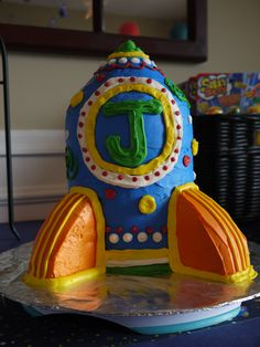 Rocket Ship Birthday...my FAV...Ideas for Jacob's 5th birthday party