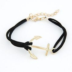 Anchor Leather Rope Bracelets
