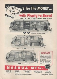 Vintage Stuff and Antique Designs Vintage Rv, Vintage Caravans, Vintage Travel Trailers, Vintage Campers, Little Campers, Cool Campers, Classic Campers, Camper Caravan, Trailer Hitch