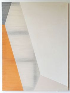 rebecca ward. Unpicks threads from the canvas to reveal the stretcher beneath
