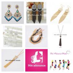 Franjas! @nosadoramosmuito Continuam na tendência neste verão! #puroluxo #instaloja #bijouxs #semijóias #moda #estilo #tendência #fashion #delicado #anéis #braceletes #brincos #colares #pulseiras #tudolindo #atendimentopersonalizado #vemparanosadoramosmuito #rings #earings #bracelets #necklaces #beautiful #style #tendence #jewelry #delicate #fashion #personalizedservice #bijouxlovers #welovetoomuch PagSeguro Pagpaypal Pagboleto