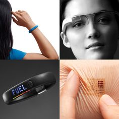 "Wearable technology including Google Glass, Up wristband and ""iWatch"""