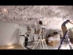 Christian Dior, Designer of Dreams Exhibition - Masks by Stephen Jones - YouTube