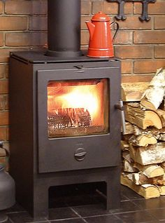 small wood stove. big enough for a tiny house