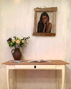 Corner Desk, Entryway Tables, Furniture, Home Decor, Objects, Sculptures, Handmade, Corner Table, Decoration Home